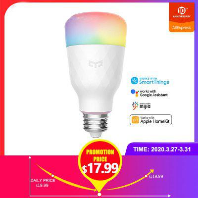 Smart WiFi Dimmable Colorful Light Bulb Compatible With Alexa Apple Homekit And Google Home