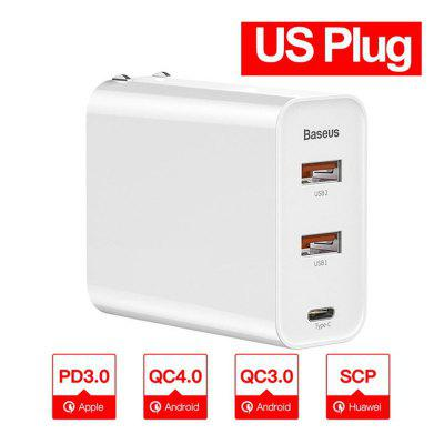 60w Quick Charge 4.0 3.0 Multi USB Charger  QC4.0 QC3.0 QC Type C PD Fast Charger
