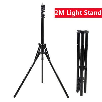 12 inch LED Ring Light Phone Holder Photography Fill Light 2M Tripod Dimmable RGB Selfie