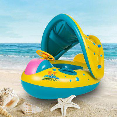 Baby Kids Summer Swimming Ring Swimming Pool Inflatable Swim Float Water Fun Pool Toys Swim Ring Seat Boat Water Sport