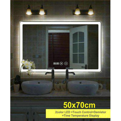 Smart Bluetooth Demist Rectangular Bathroom Mirror High Quality Refection