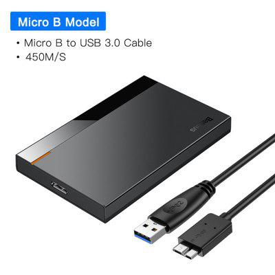 HDD Case 2.5 SATA To USB 3.0 Adapter Hard Disk Case HDD Enclosure For SSD Case Type C 3.1 HDD Box HD External HDD Caddy