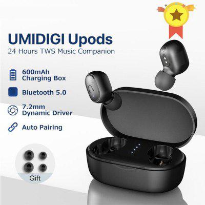 TWS Wireless Bluetooth Earphone V5.0 Headset With Mic Sports Noice Reduction With Charging Box For Android IOS MI