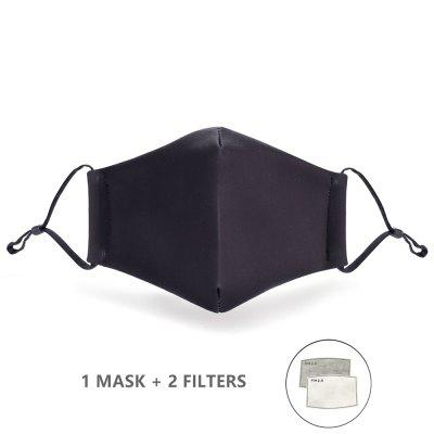 Fashion Reusable Protective PM2.5 Filter Printing mouth Mask anti dust Face mask Windproof Mouth-muffle bacteria proof Flu Mask