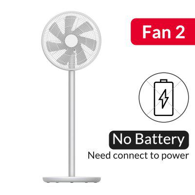 Natural Wind Pedestal Fan 2S APP Control DC Frequency Fan 20W2800mAh 100 Stepless Speed
