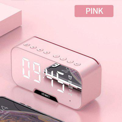 Wireless Bluetooth Speakers Small Portable Mini Clock Sound Subwoofer Mobile 3 D Surrounding Residential Dual Alarm Clock