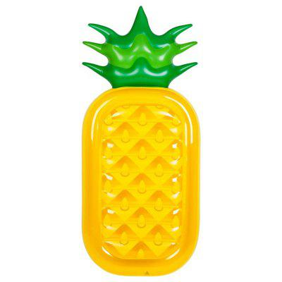 Inflatable Pineapple Swimming Pool Float Raft Outdoor Large Inflatable Swim Float Lounge Pool Toys for Adults and Kids