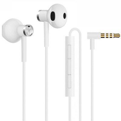 Xiaomi Hybrid DC Seo In-Ear Earphone 3.5mm Earphone With Mic Wire Control Dual Driver For Mi CC9 8 9 SE Redmi 8 8A Note 8T
