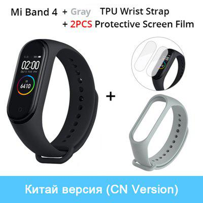 Xiaomi Mi Band 4 Original Music Smart Miband 4 Bracelet Heart Rate Fitness 135mAh Color Screen 50M Waterproof Bluetooth 5.0