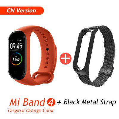 Mi Band 4 Smart Bracelet 3 Color Miband 4 Smartband AMOLED Screen Fitness Traker Bluetooth Sport Waterproof Smart Band
