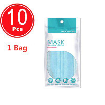 3-layer mask Non Woven Disposable Anti-Dust Masks Earloops Masks Non Medical
