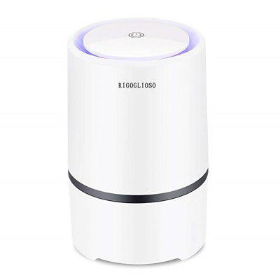 Air Purifier Air Cleaner for Home HEPA Filters 5v USB cable Low Noise Air Purifier with Night Light Desktop GL2103