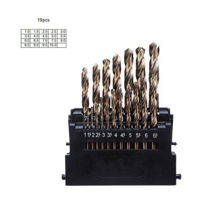 M42 HSS Twist Drill Bit Set for Metal 8% High Cobalt Copper Iron Aluminum Wood Stainless Steel Drilling Core Drill Bits