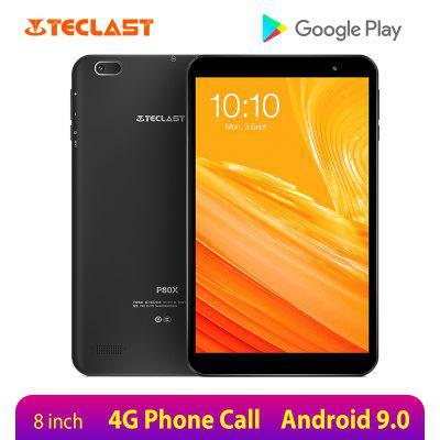 Teclast P80X 8 inch Tablet Android 9.0 4G Phablet SC9863A Octa Core 1280x800 IPS 2GB RAM 32GB ROM Tablet PC Dual Cameras GPS