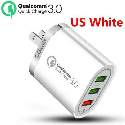 3 USB Charger for iPhone Quick Charge 3.0 Fast Charger for Xiaomi QC 3.0 Portable Phone Charger Charging Adapter