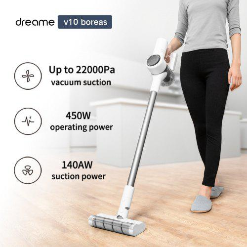 Handheld Wireless Vacuum Cleaner Dreame V10 boreas Portable Cordless Dust Collector Anti-winding...