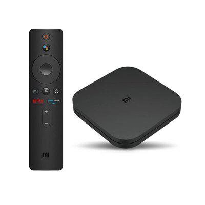 Original Global Xiaomi Mi TV Box S 4K Ultra HD Android 8.1 HDR 2G 8G WiFi Google Cast Netflix Smart 4 Media Player