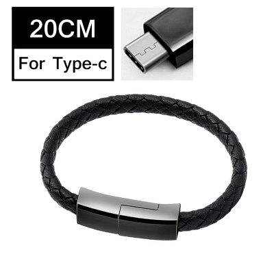 Sports Bracelet USB C Micro USB 8 Pin Charger Cable Phone Data Quick Charge Cable For iPhone X 7 8 plus samsung S8 Wire Portable