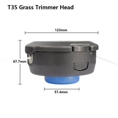 Universal Grass Trimmer Head String Trimmer Head For Lawn Mower Brush Cutter Head Grass Trimmer Accessories