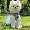Nylon Mesh Kitten Puppy Reflective Dogs Harness And Leash Set Dogs Vest Harness Leads Pet Clothes For Small Dogs