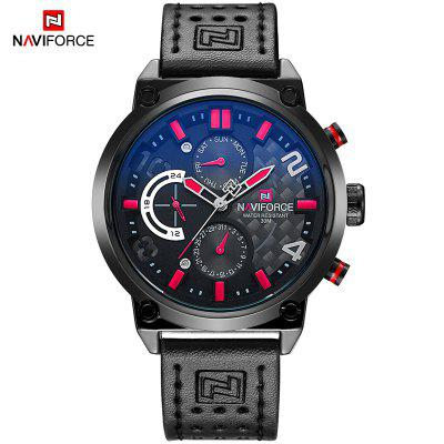 Casual Sport Watches Men Top Brand Luxury Military Leather Wrist Watch Male Business Quartz Clock