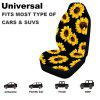 Universal Car Front Seat Cover 3D Printing Fashion Patterns Autos full Cushion Fit For Most Cars