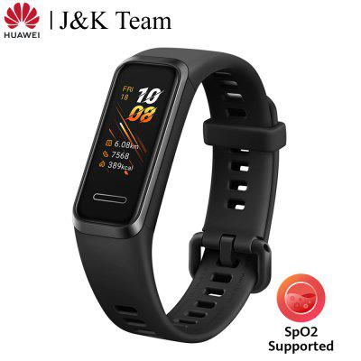 Huawei Band 4 Smart Band Blood Oxygen Spo2 Global Version Smart Watch Heart Rate Health Monitor New Watch Faces USB Plug Charge