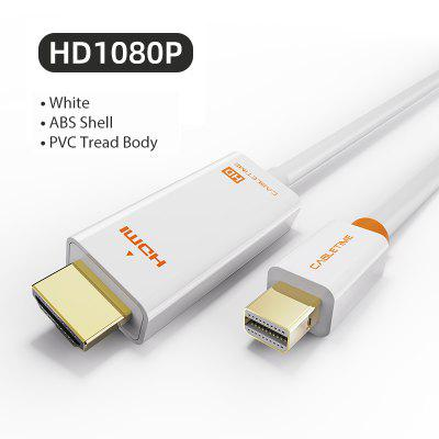Mini Displayport to HDMI Cable 4K HD Thunderbolt 2 Mini Display Port Adapter Cord For MacBook Air Mini DP to HDMI C054