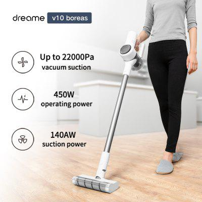 Handheld Wireless Vacuum Cleaner Dreame V10 boreas Portable Cordless Dust Collector Anti-winding 22000Pa Suction 140AW Power