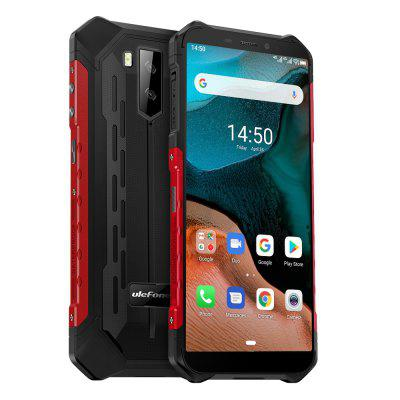 Ulefone Armor X5  Android 10 Rugged Waterproof  Smartphone IP68 MT6762 Cell Phone 3GB 32GB Octa core NFC  4G LTE Mobile Phone cubot kingkong mini rugged phone 4 inch qhd screen waterproof 4g lte dual sim 3gb 32gb android 9 0 rear camera 13mp real mini phone
