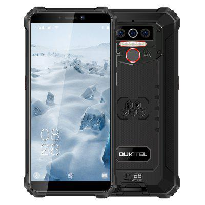OUKITEL WP5 IP68 Waterproof Smartphone 8000mAh Android 10.0 Triple Camera Face/Fingerprint ID 5.5 inches 4GB 32GB Mobile Phones