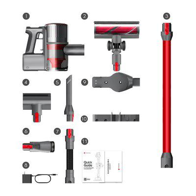 Roborock H6 Cordless Vacuum with 150AW Strong Power Suction Stick Handheld Vacuum Cleaner Lightweight 90min-Running for Hard F