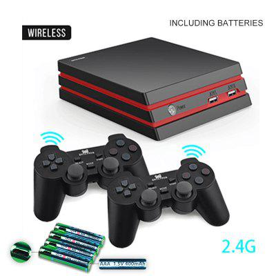 Game Console With 2.4G Wireless Controller HDMI Video Game Console 600 Classic Games For GBA Family TV Retro Game
