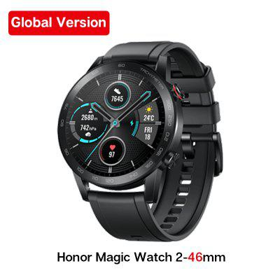 Global Version Honor Magic Watch 2 Smart Watch Bluetooth5.1 Smartwatch Blood Oxygen Waterproof 14 Days Heart Rat For Android iOS