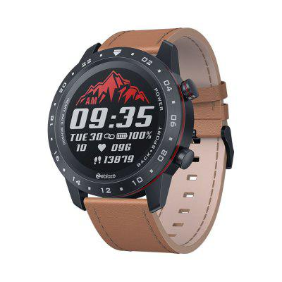 New 2020 Zeblaze NEO 2 Smart Watch Health Fitness Battery Life Classic Design Bluetooth 5.0 Smart Watch For Women Men Brown