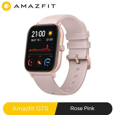 Global Version Amazfit GTS Smart Watch 5ATM Waterproof Swimming Smartwatch 14 Days Battery Music Control for Android