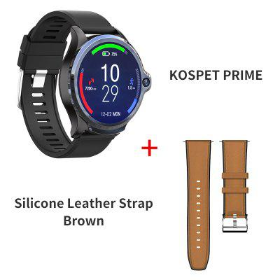 KOSPET Prime 3GB 32GB Smart Watch Men 1260mAh Dual Camera Heart Rate Face ID 1.6 INCH Bluetooth 4G Android Smartwatch Phone GPS