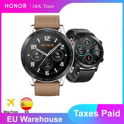 Honor Magic Watch 2 Smart Bluetooth 5.1 Smartwatch Blood Oxygen 14 Days Phone Call Heart Rate For Android iOS