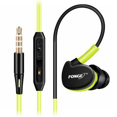 3.5 mm Stereo Earphones Sport Running Headset Super Bass Headset IPX5 Waterproof HIFI Handsfree Earbuds With Mic For Xiaomi