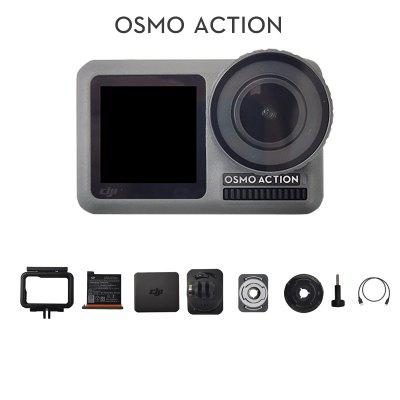 DJI Osmo Action Sports Camera Dual Screens and RockSteady Stabilization Waterproof 8xSlow Motion