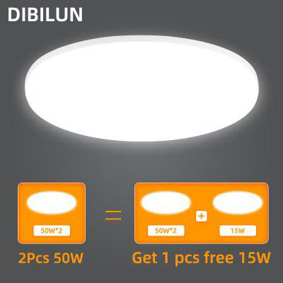Ultra Thin LED Ceiling Lights 15/20/30/50W Modern Surface Mounted Led Panel Lamp for Living Room Lighting Fixture