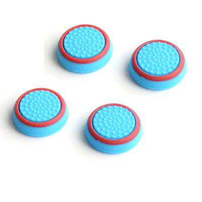 4pcs Silicone Analog Thumb Stick Grips Cover for PlayStation 4 PS4 Pro Slim for PS3 Controller Thumbstick Caps for Xbox 360 One