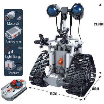 ERBO 408PCS City Creative RC Robot Electric Building Blocks Technic Remote Control Intelligent Bricks Toys For Children