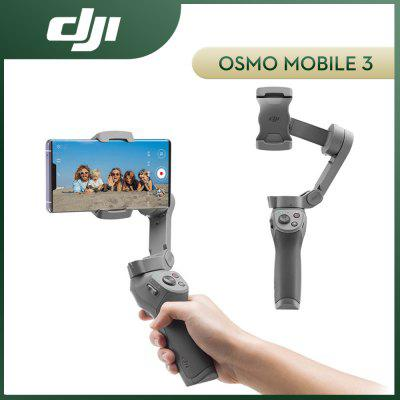 DJI OSMO Mobile 3 Gimbal Stabilizer Selfie Stick Axis Handheld Foldable Active Track 3.0 Gesture Controll 100% Original