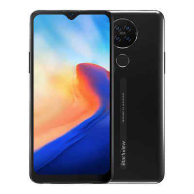 Blackview A80 Quad Rear Camera Android 10.0 Go Mobile Phone 6.21 inch Waterdrop HD Screen 2GB+16GB Cellphone 4200mAh 4G Smartphone