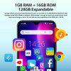 Blackview A60 Original 6.1 inch Smartphone Full Waterdrop Screen 4080mAh Android 8.1 Cellphone 1GB+16GB 13.0 MP Mobile Phone