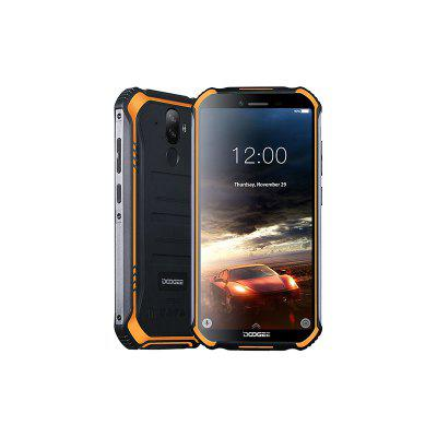 DOOGEE S40 4GNetwork Rugged Mobile Phone 5.5inch Display 4650mAh MT6739 Quad Core 3GB RAM 32GB ROM Android 9.0 8.0MP IP68 IP69K