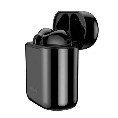Фото - Baseus W09 TWS Wireless Bluetooth Earphone Intelligent Touch Control Wireless TWS Earphones Stereo Bass Sound Smart Connect 6pcs 315 433mhz 1ch 85v 110v 220v 250v rf wireless home automation remote control switch receiver module and remote controller