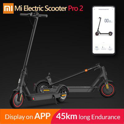 2020 Original Xiaomi Mijia Pro 2 Smart Electric Scooter Foldable Mi Hoverboard Skateboard Kick with APP 45KM Mileage