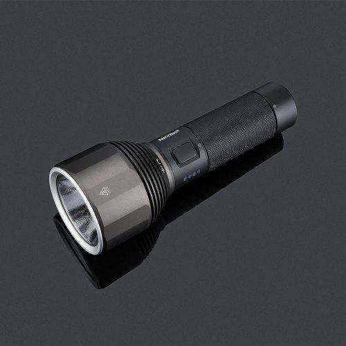 Youpin NexTool Rechargeable Flashlight 2000lm 380m 5 Modes IPX7 Waterproof LED Light Type-C Seaching Torch for Camping